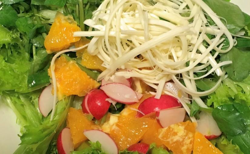 フルーツのカラフルサラダ