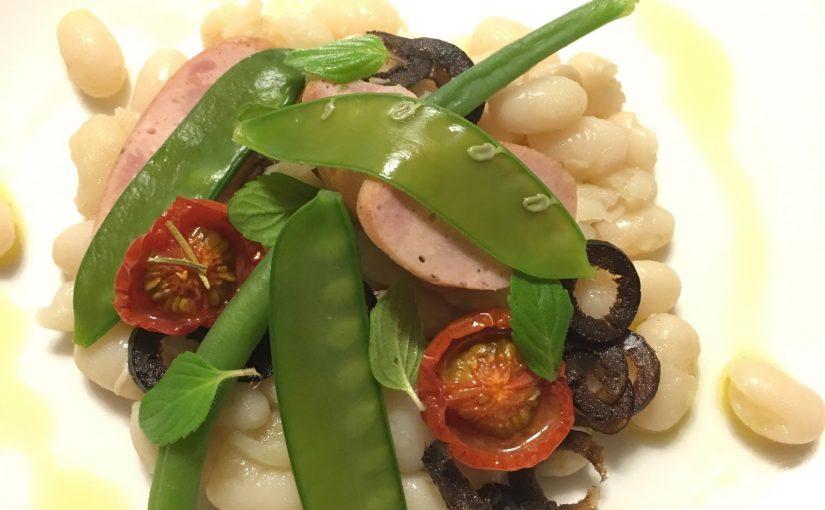 メイマルシェ直伝!白いんげん豆とミントのサラダ