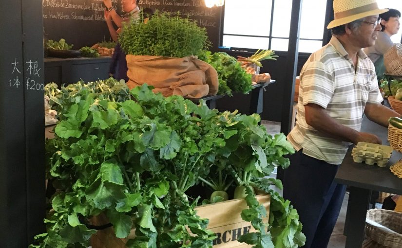ステキな野菜に出会えるマーケット