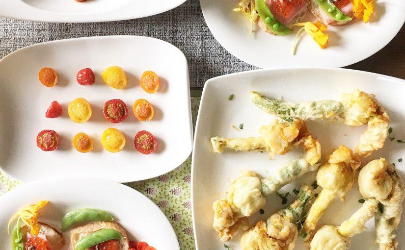北海道の夏野菜たっぷり週末ランチ