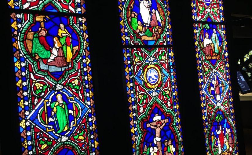 小樽に光り輝くステンドグラスの美術館