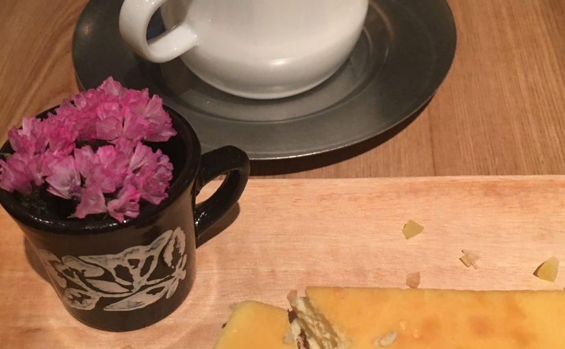 カフェも楽しめる円山のフラワーショップ