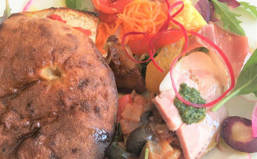 南円山「ハコ」のフォカッチャを色々な楽しみ方で