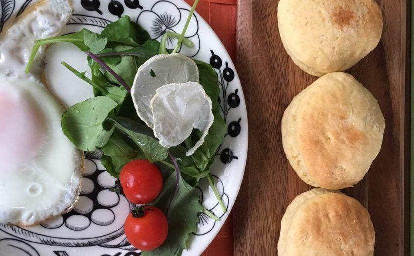 冷蔵庫にある食材でカフェ風ブランチ