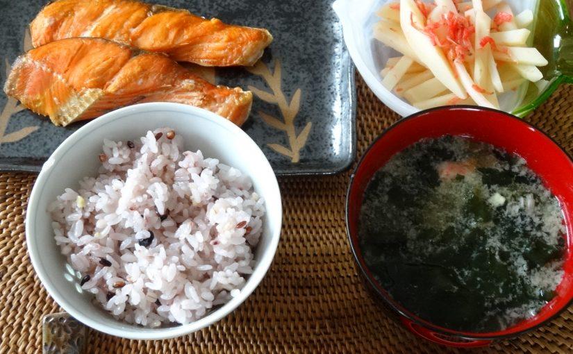 週末のシンプル和食ごはん