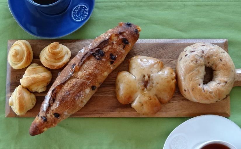 EBRIパンフェアのパンで朝食を